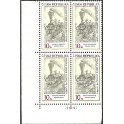 540.,čtbl,datum tisku, Tradice známkové tvorby-F.Hudeček,**