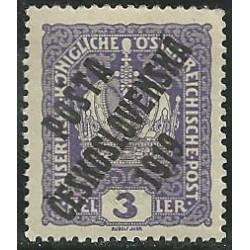 33. /185.- rakouské zn. císařská koruna,**,