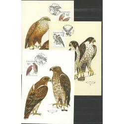 """CM 49- 51. /3/, 372- 374., Ochrana přírody- draví ptáci,o"""","""